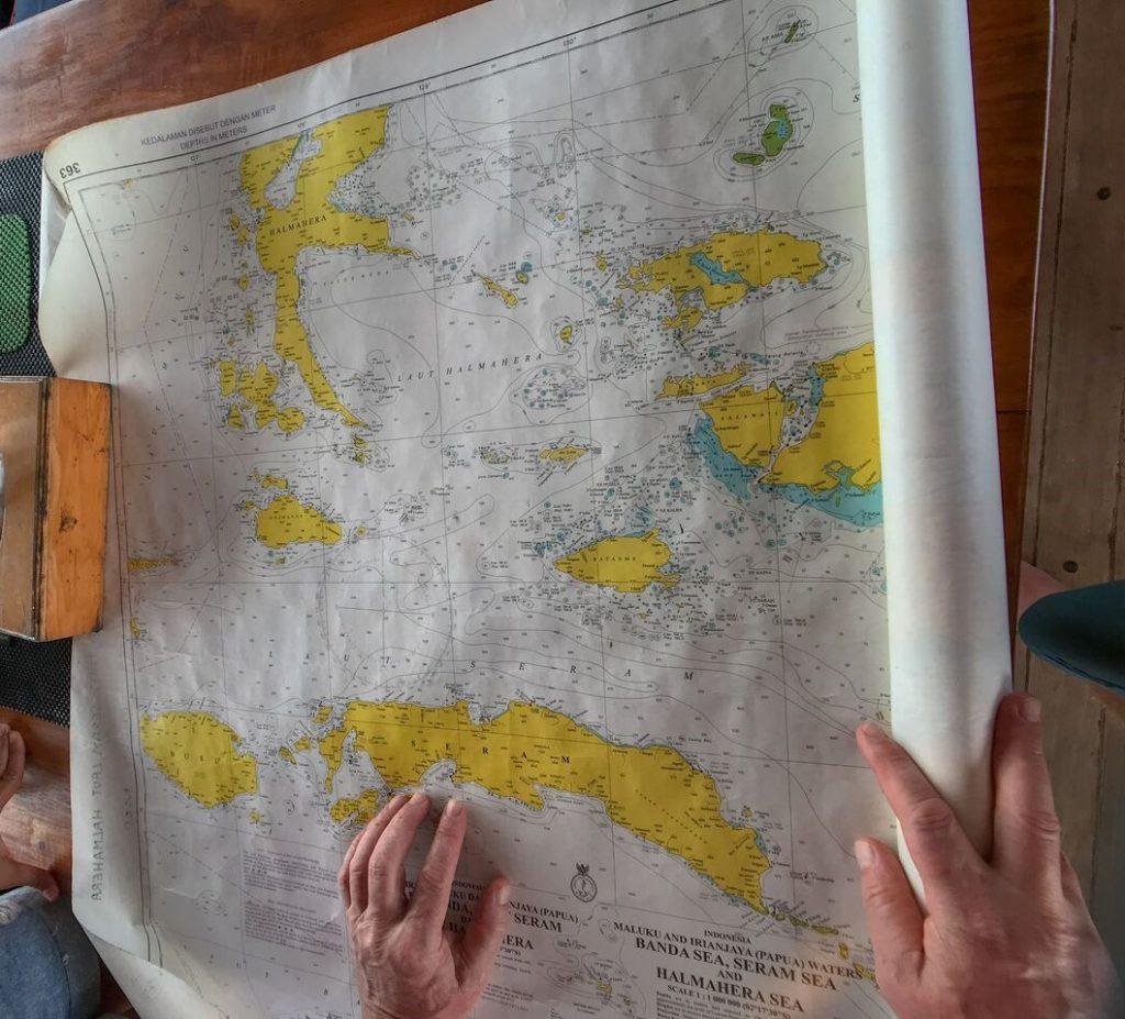 Hammerhead Shark Diving 2018 02 Raja Ampat MAP SERAM