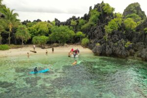 cruising tritonbay secluded beach