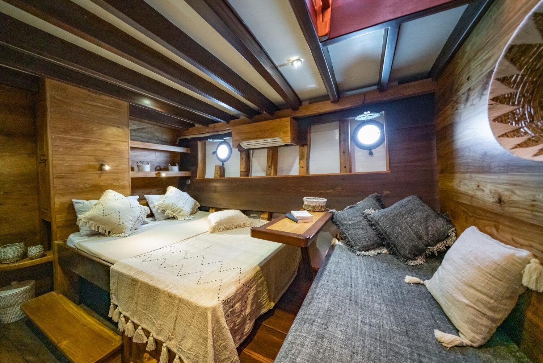 private yacht interior