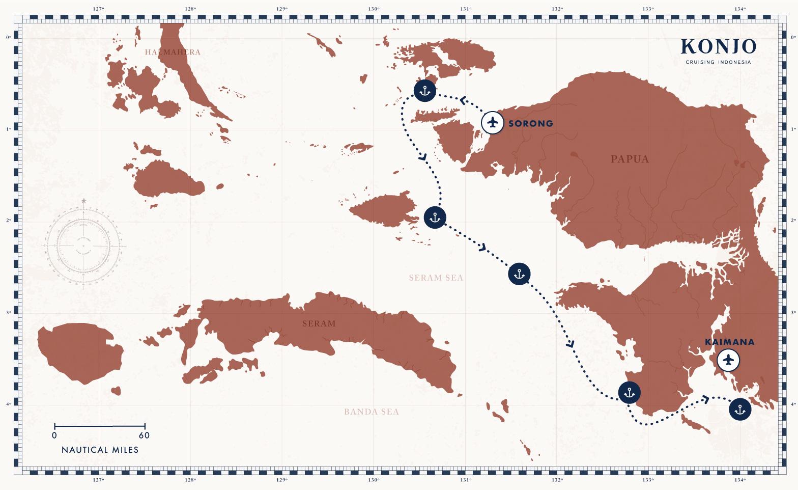 cruising diving raja ampat Tritonbay divingliveaboard konjocruising offthebeatenpath