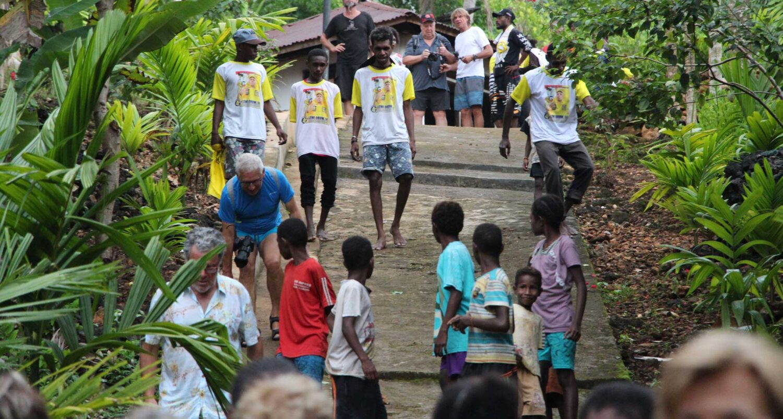 cruising indonesia remote place tritonbay papuan villagetour