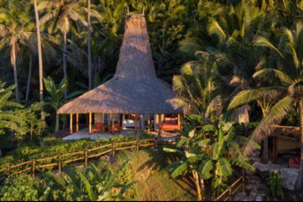 Maison traditionnelle indonésienne