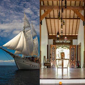 voyages konjo cruising indonesia island cruise liveaboard scuba diving yacht charter luxury bali tour package whale shark triton bay raja ampat misool halmahera komodo hammer